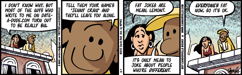 Fat Jokes Are Mean