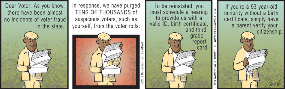Blatant Voter Suppression Laws