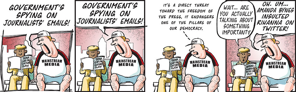 Spying On Journalists Emails