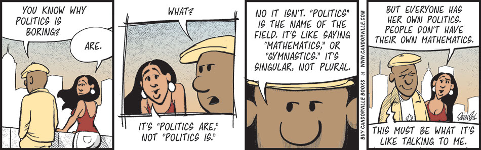 Why Politics Are Boring