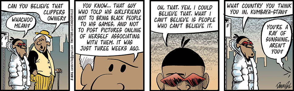 He Cannot Believe The Racism