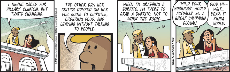 Hillary Clinton Went To Chipotle