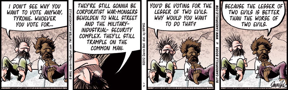 Why Voting For The Lesser Of Two Evils Is A Good Idea