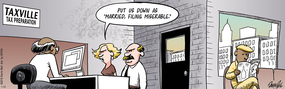 Filing Married at Tax Time