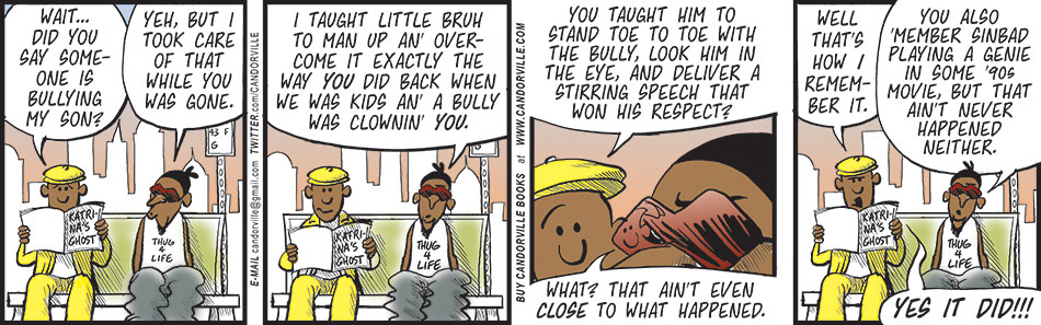 His Little Boy And The Bully