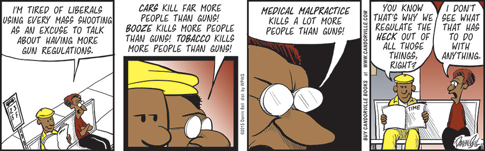 Plenty Of Things Kill More People Than Guns